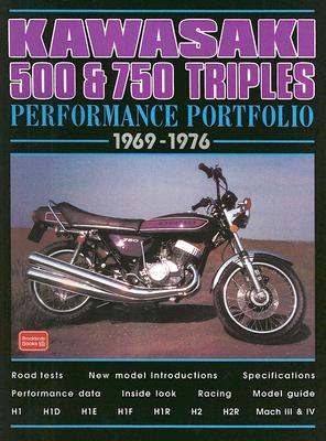 Kawasaki 500 & 750 Triples 1969-1976 Performance Portfolio By Clarke, R. M.